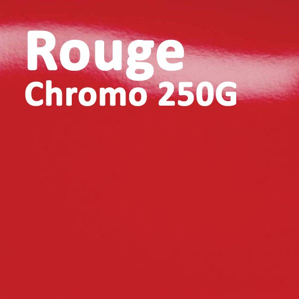 Couverture Carton Chromo Rouge 250g#Le paquete de 100 feuilles