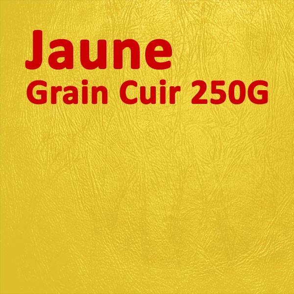 Couverture Carton Grain Cuir Jaune 250g#Le paquet de 100 feuilles