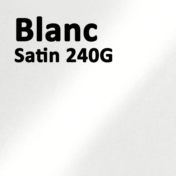 Couvertures Emboîtage Dos Carré Collé # Face transparent + Dos Carton # Satin Blanc 240gr Boite de 100 Pcs