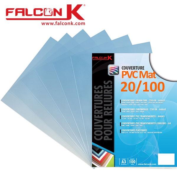 @Couverture PVC 20/100 Mat #Le paquet de 100 feuilles