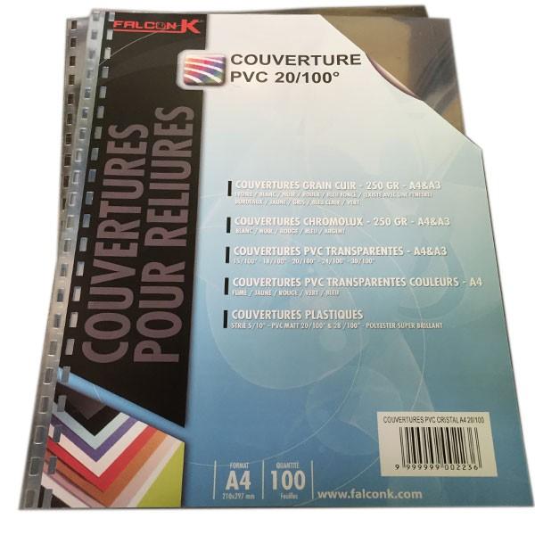 @Couverture PVC 20/100 perforation 21 Trous RECTANGULAIRE anneaux plastique en 14.28mm #Le paquet de 100 feuilles
