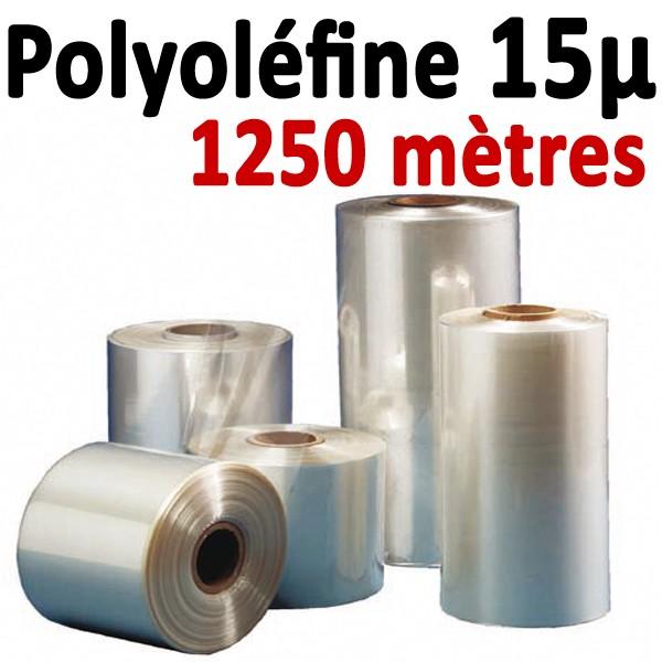 Film polyoléfine15µ#1250 métres