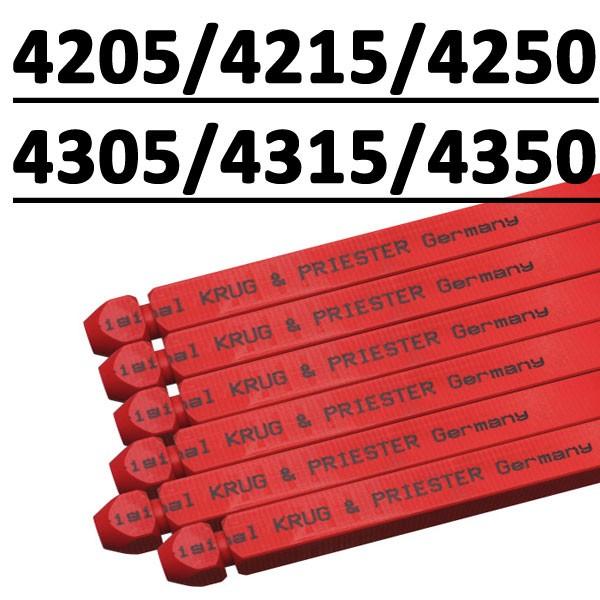 Réglette compatible pour massicot # IDEAL 4205/4215/4250 /4305/4315/4350 #Type 570 x 14 x 14 – 2 Gorges