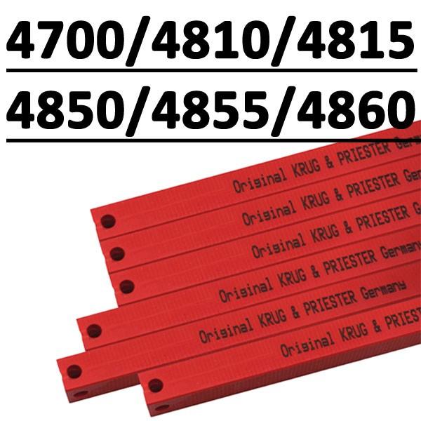 Réglette compatible pour massicot # 4700/4705/4810/4815/4850/4860/EBA 480 #type 14x14x570P