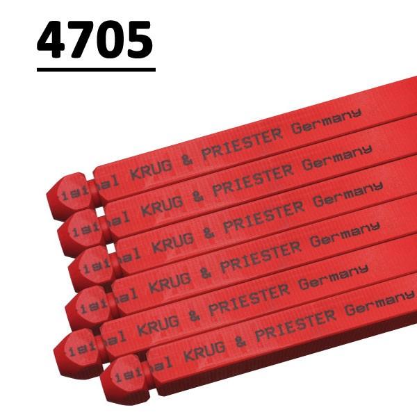Réglette compatible pour massicot # 4705 type 14x14x670P