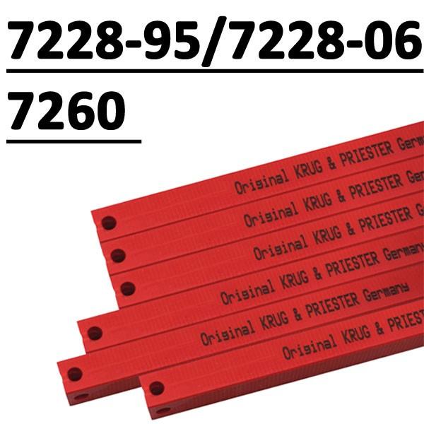 Réglette compatible pour massicot #IDEAL7228-95/7228-06/EBA 721 # Type 14x14x885P