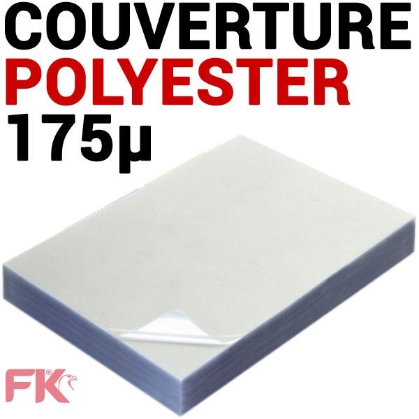 @Couverture polyester 175μ pour FastBack & Plana#Le paquet de 100 feuilles