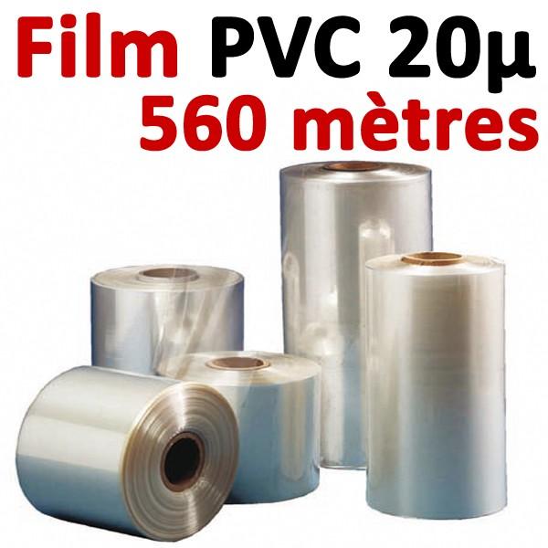 Film PVC 20μ#560 mètres