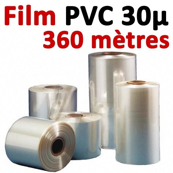 Film PVC 30μ#360 mètres