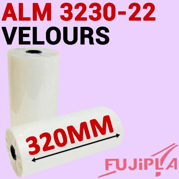 Rouleaux en 320mm Eco-silk-VELOURS #Pour ALM 3220-3222-3230# Boite de 2 rouleaux