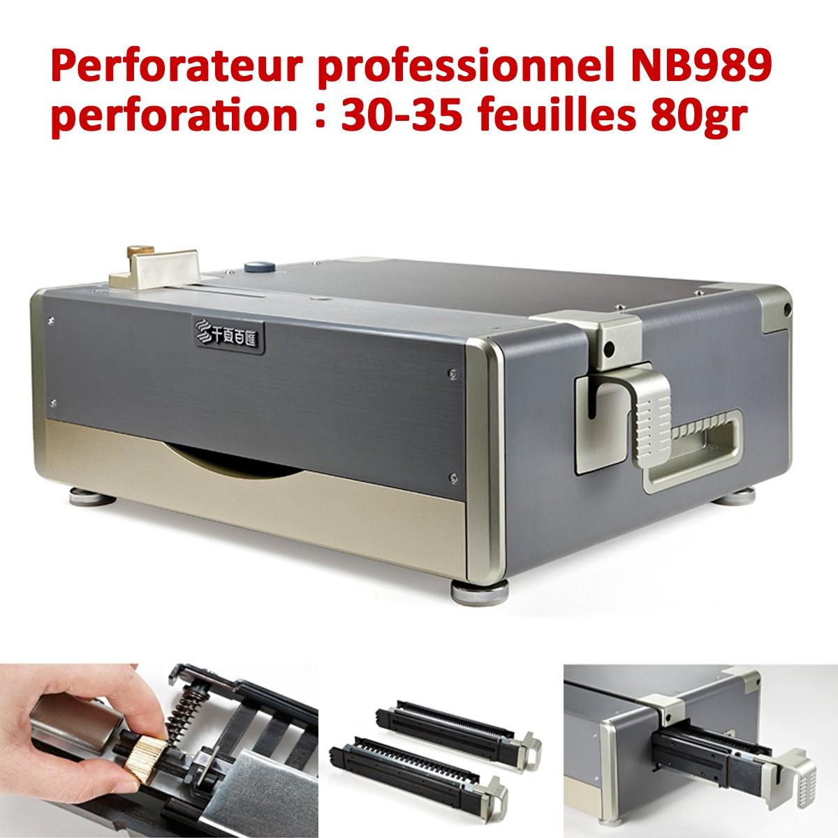 Perforateur Electrique 35-40 feuilles A4  NB989