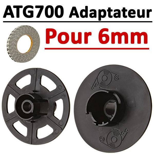 Adaptateur pour Ruban adhésif  de 6 mm  Pour ATG 700#Par 1 pièce
