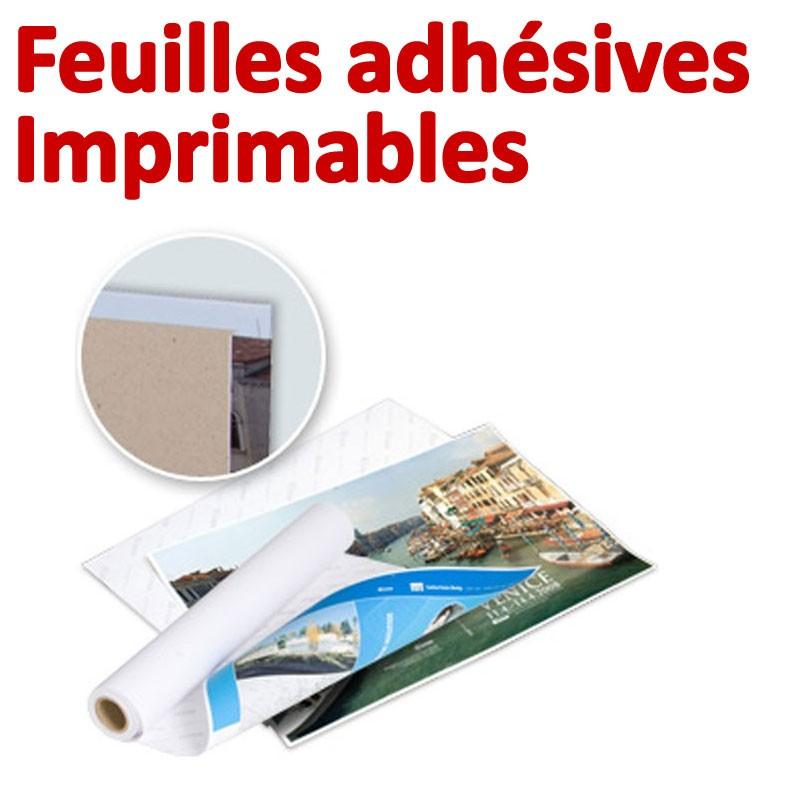 Feuilles adhésives# Imprimables