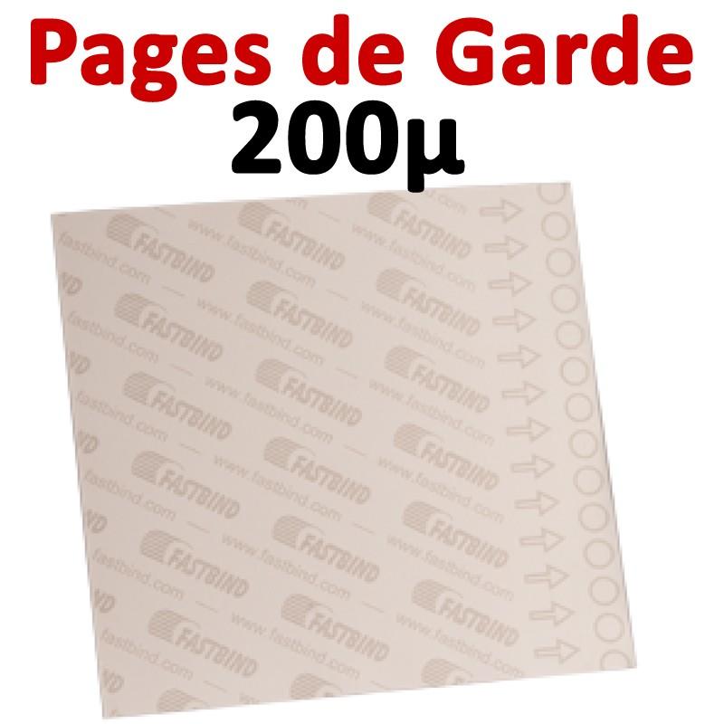 Pages De Garde # FotoMount 200 Mic # Vendu Par 100 pcs