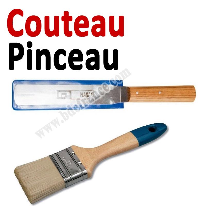 Couteau  Pinceau