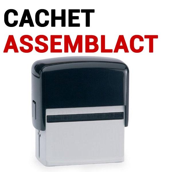 @Cachet auto-encreur ASSEMBLAC